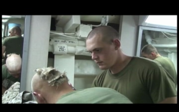Haircuts Aboard The USS New Orleans, Part 3