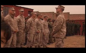 Marines Help Peruvian School