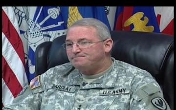 Maj. Gen. James O. Barclay III, Part 1