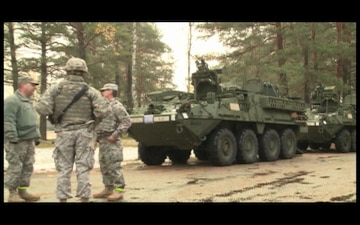 PA National Guard Soldiers at Adazi Training Area, Latvia