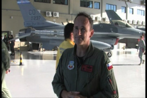 Interview with Brigadier General Trulan A. Eyre, 140th Wing Commander during CRUZEX V