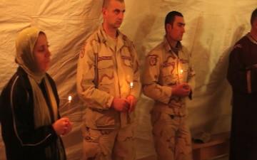 U.S. and Georgian Service Members Come Together for Worship