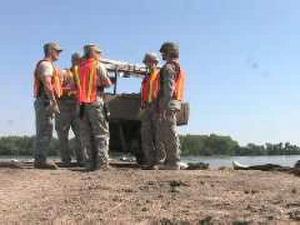 Joint Force Medics Support Missouri River Flooding in Dakota Dunes, South Dakota