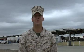 U.S. Marine Lance Cpl. Andrew Los