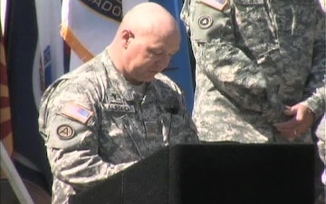 364th Expeditionary Command Deployment Ceremony, Part 2