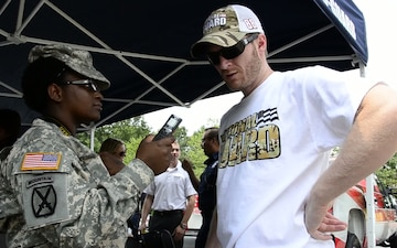 Dale Earnhardt Jr. visits Georgia Army National Guard