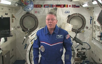 NASA Greeting: Mike Fossum
