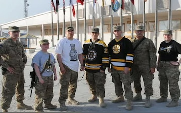 Boston Bruins Military Night Shout Outs