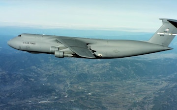 Air Mobility Command C-5 Aircraft Aerials