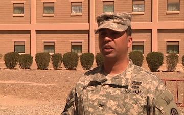 ACAP in Kuwait: Col. Eluyn Gines Interview