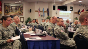 Army Generals Meet to Discuss Force Transition
