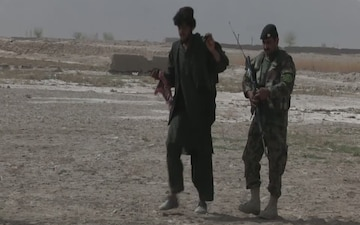 Afghan Army and Police Conduct Security Operation (2 of 2)