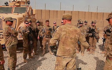 Freedom File - SPC Michael Armstrong Leading From the Front