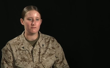 Interview with Lance Cpl. Katherine Nowicki