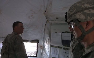 Ready First Chaplains Visit Soldiers During Iron Focus