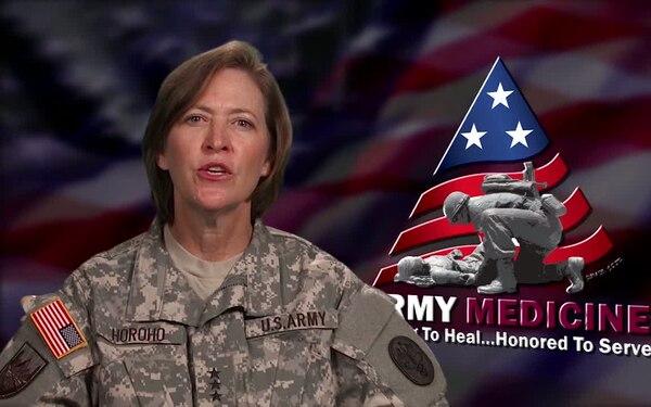 Surgeon General, U.S. Army, Lt. Gen. Patricia D. Horoho