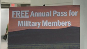 National Park Service offers free passes to military