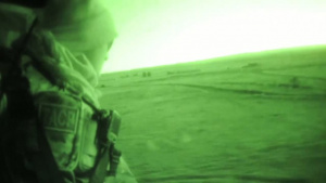 JTAC Training at Night from a Blackhawk Helicopter