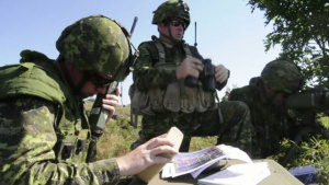 Canadian Forces train at Northern Strike 2012