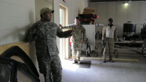 JTAC's Participate in Combatives and Close Quarters Battle Training