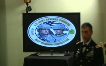 Award Banquet - Best Warrior 2012 Part 1