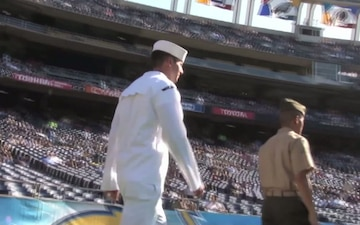 All Hands Update: San Diego Chargers Salute Military