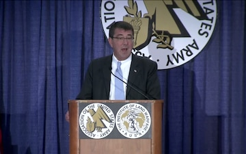 AUSA Annual Meeting: Ashton Carter Remarks