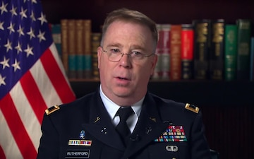 Chaplain (Major General) Donald Rutherford