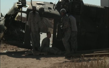 123rd Brigade Support Battalion Conducts Movement Technique training.