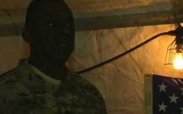 Gen. Lloyd Austin Visits Troops with Under Secretary Westphal
