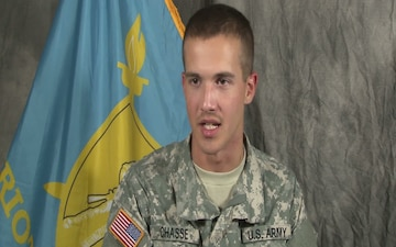 Pvt. Keith Chasse Graduates from the Patriot Academy's Last Class