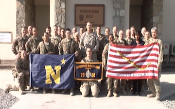 U.S. Forces Afghanistan Shout Out for Army/Navy Game