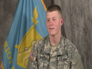 Pvt. Robert J. Markello Graduates from Patriot Academy's Last Class