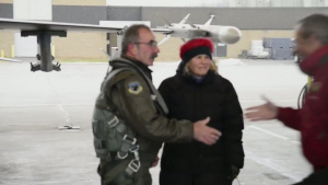Col. Donald Majercik 1000 F16 Flight Hours