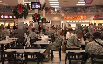 10th Mountain Division Band plays at Post Exchange
