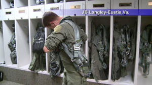 Air Force Report: F-22 Demo Pilot