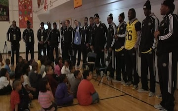 All American Bowl Players Spend Time With SA Youth
