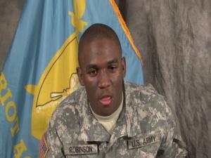 Pvt. Robert C. Robinson Graduates from Patriot Academy's Last Class