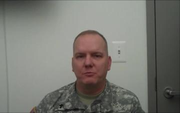 Chaplain (Col.) Joe Melvin Message to Family Life Chaplains