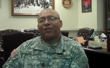 Sgt. Maj. Stephen Stott About Command Sgt. Maj. Carrie Glover