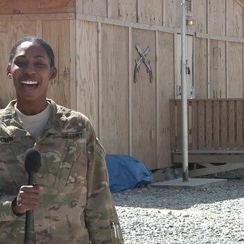 SPC Kenisha Brown