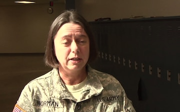 First Army Soldiers  Celebrate Women's History Month