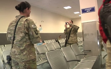 Twins Reunite During Deployment