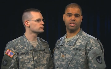 Stop the Loss:  Chaplain (MAJ) Lonny Wortham and SSG Luke Hendricks, Army National Guard Staff Chaplain Office