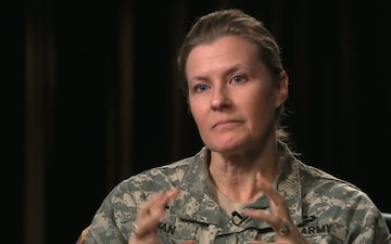 CH (LTC) Julie Rowan discusses the importance of resiliency in the Army