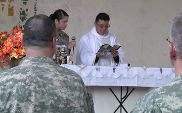 Easter Mass at Military District Six