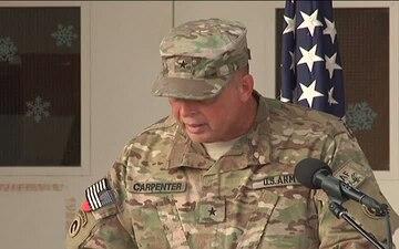 Lt. Gen. Jeffrey Talley's Visit to Kandahar