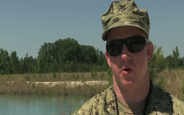 Ardent Sentry 2013 Diving: Interview with Navy Diver 1st Class Brett Harkey, MDSU 2