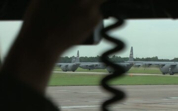 Joint Operational Access Exercise 13-03 - C-130 Formation