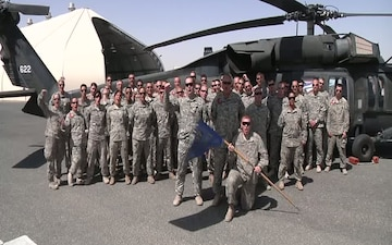 Alaska Soldiers send July 4th Message from Kuwait